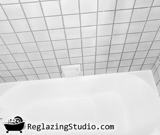 bathroom ceramic tile wall refinishing los angeles