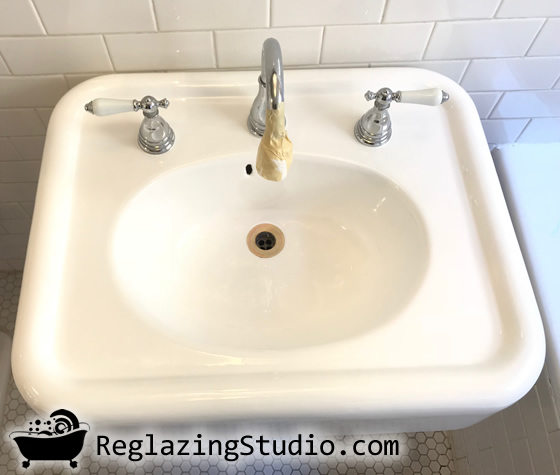 sink reglazing refinishing la ca usa
