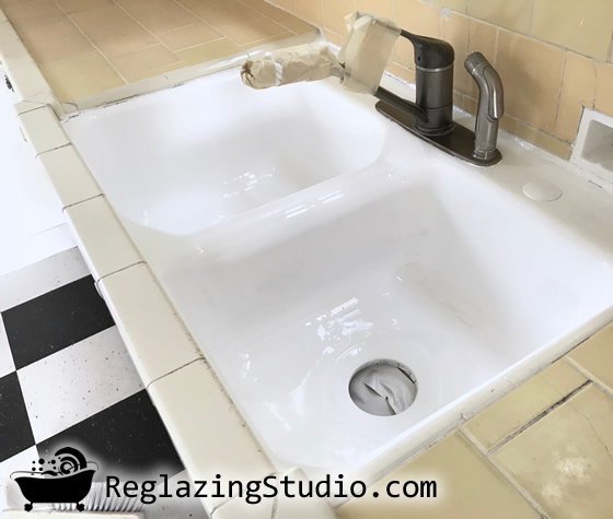 Kitchen Sink Professional Refinishing